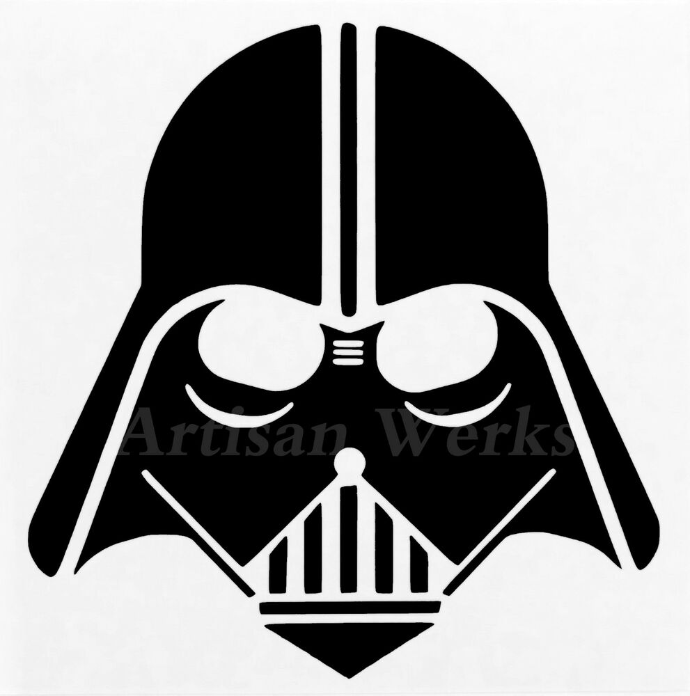 Darth Vader Star Wars Vinyl Decal Sticker Car Truck Bumper