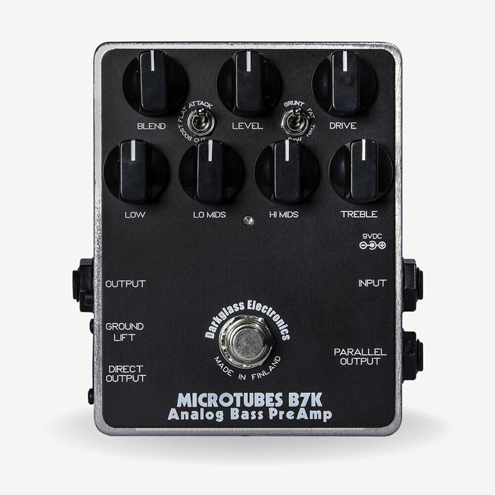 darkglass microtubes b7k analog bass preamp overdrive distortion guitar fx pedal ebay. Black Bedroom Furniture Sets. Home Design Ideas