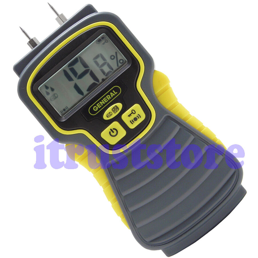 Digital Water Meter Reading : Digital electronic moisture meter reading gauge gage water