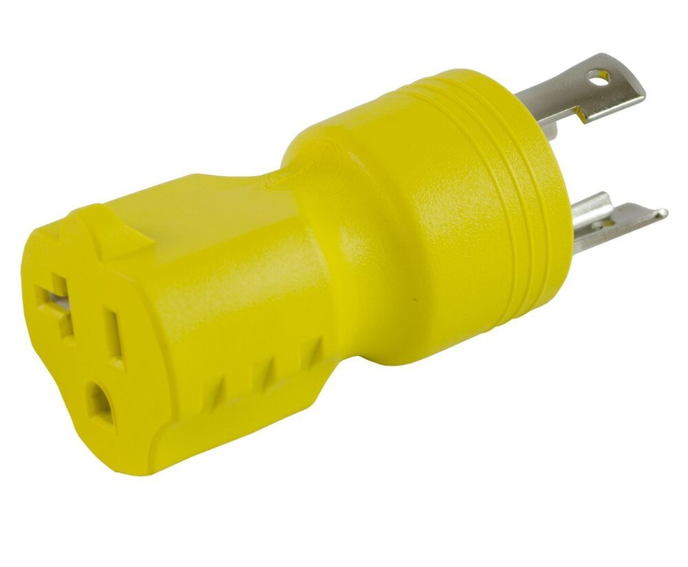 conntek locking adapter with 30 amp 125 volt male plug to 125V Plug Wiring Diagram 250 Volt Plug Wiring Diagram
