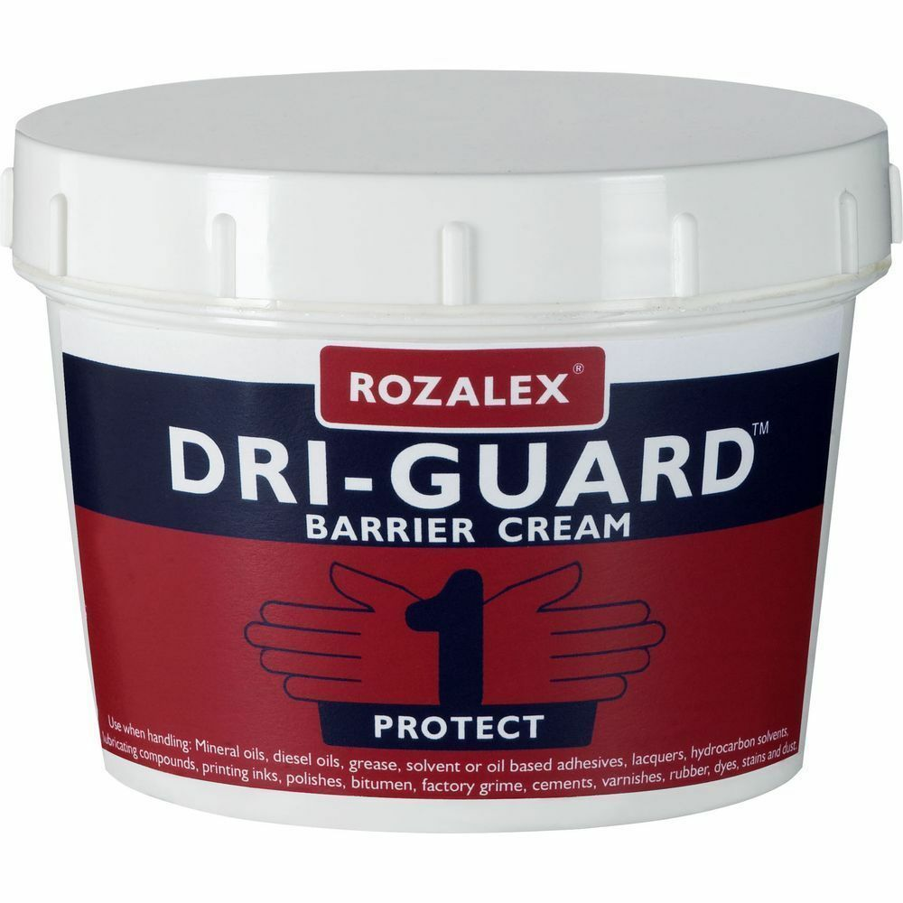 Rozalex Dri Guard Barrier Cream 450ml Dry Guard Skin Dri