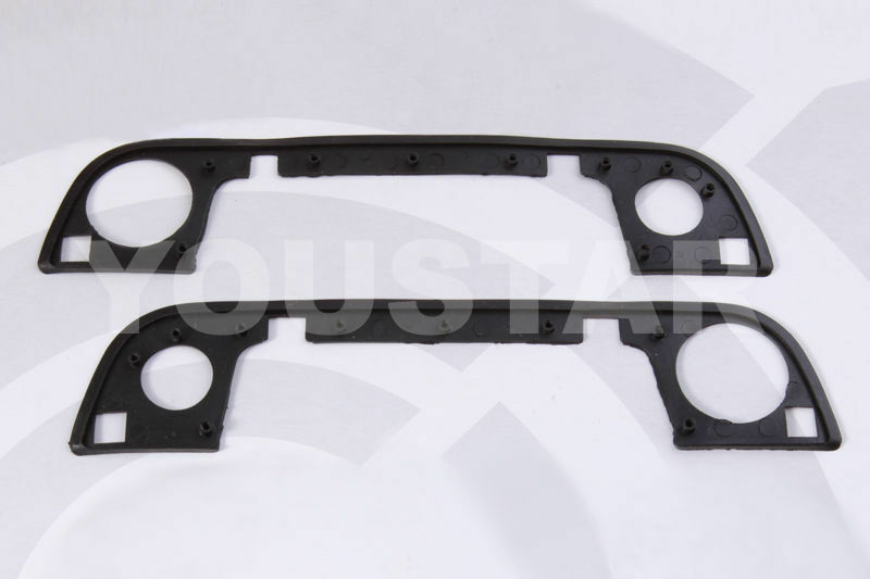 Set 2x New Front Outer Door Handle Gasket Rubber Seals For Bmw E34 E36 H02 Ebay