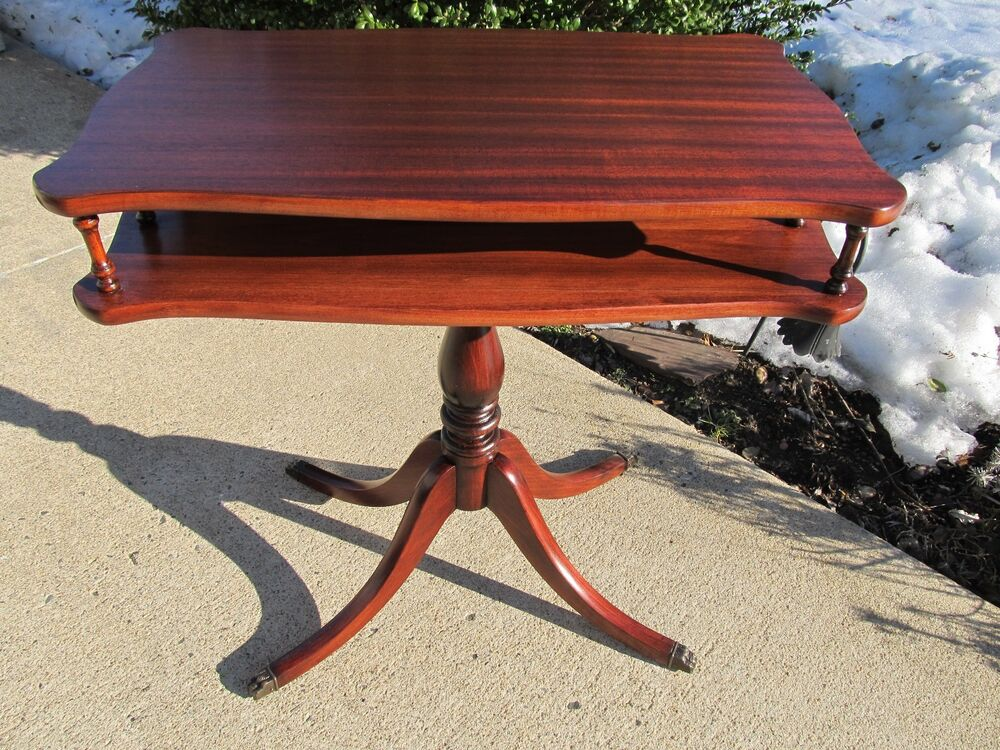 Antique End Tables Images: Antique Mahogany Parlor Coffee End Table Brandt