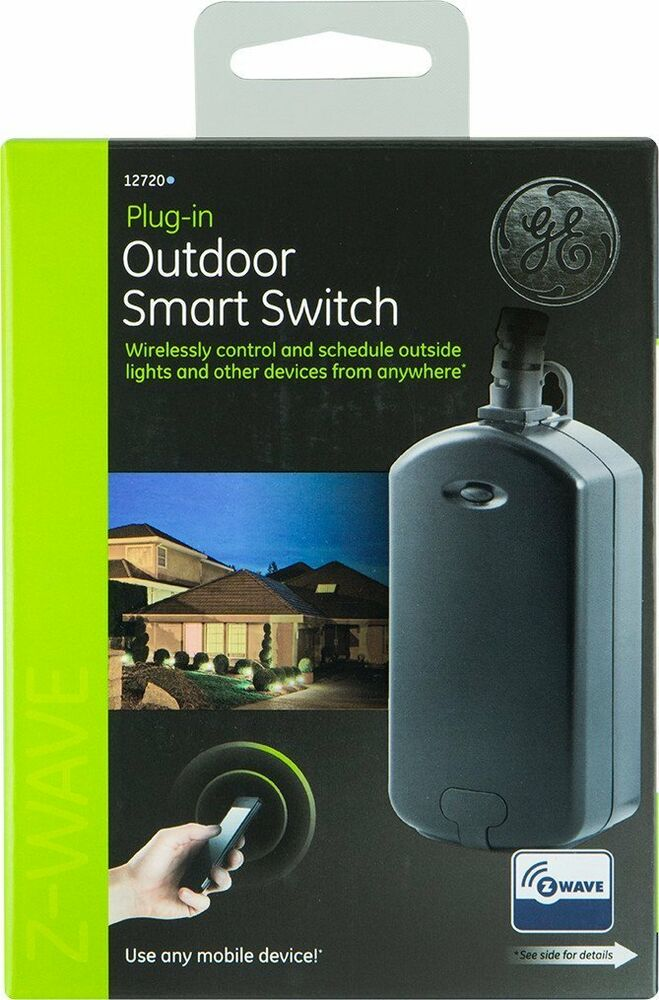 Landscape Lighting Z Wave : Ge z wave wireless lighting control outdoor module new