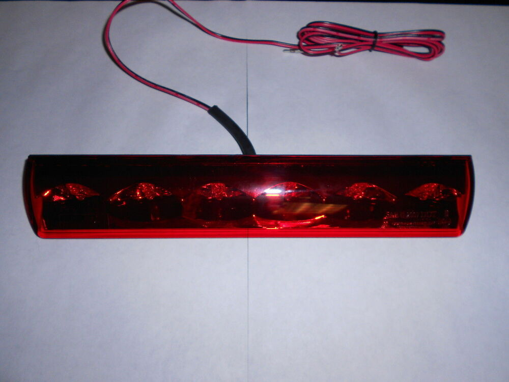 Truck Cap Topper Third Brake Light Led Red Factory Fit