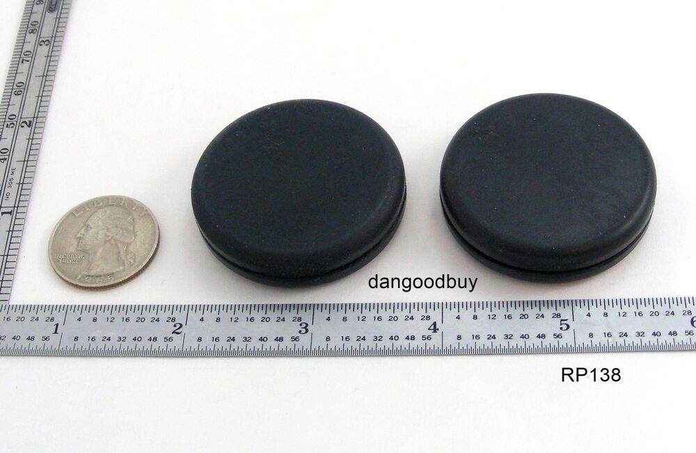 2 Rubber Grommets Without Hole Rubber Plug Solid