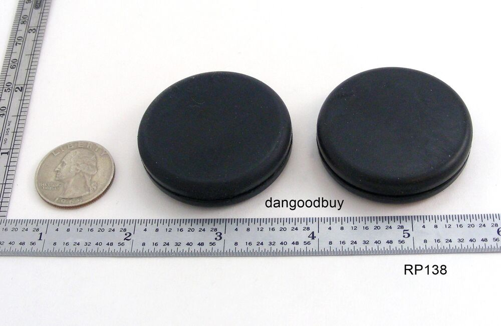6 Rubber Grommets Without Hole Rubber Plug Solid