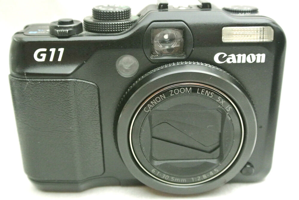 Canon Powershot G11 10MP compact digital camera made in ...