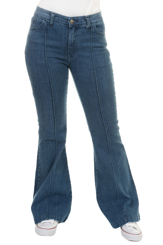 Stretch Bootcut Jeans For Women