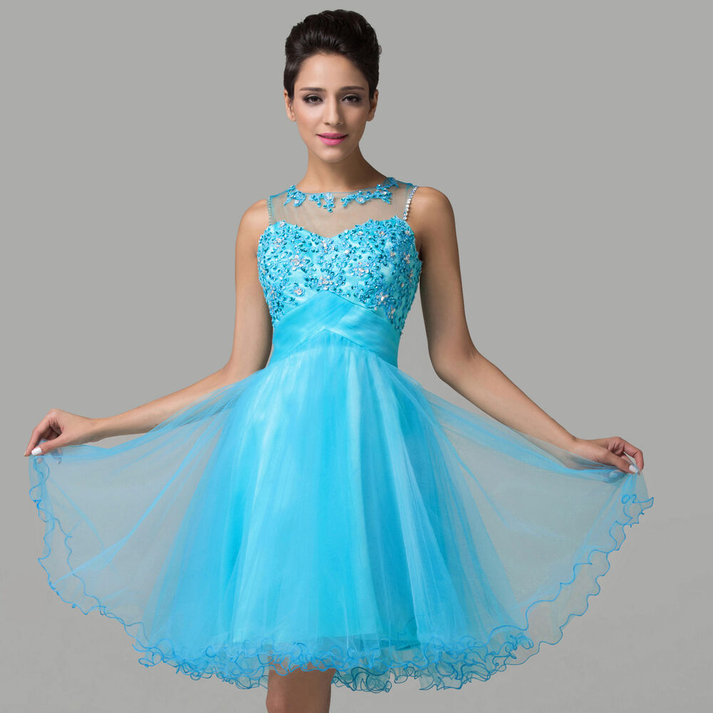Short Blue Prom Dresses Ebay - Boutique Prom Dresses