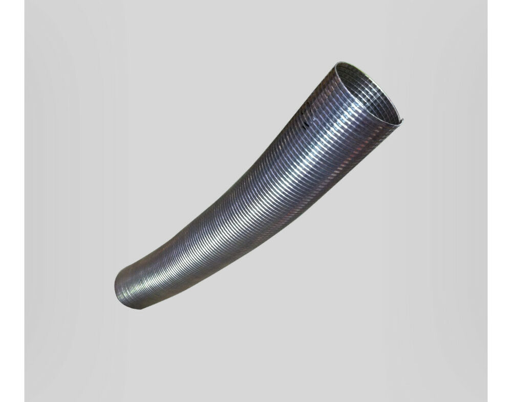 Flexible Stainless Polylock Exhaust Pipe 1mtr X I D 3