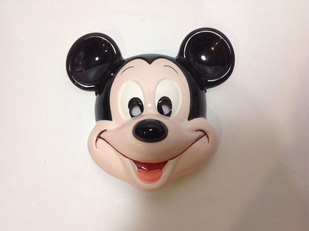 Mickey Mouse Walt Disney Wall Mask Plaque Ceramic