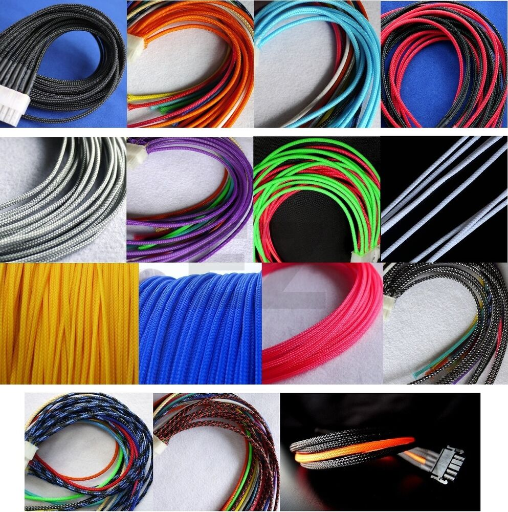 3mm 1 8 Quot Expandable Braided Pet Cable Sleeving 3 Weave