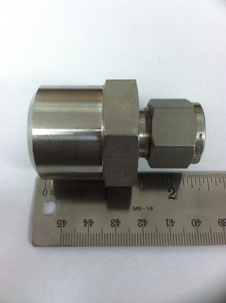 Swagelok ss w connector quot tube od male