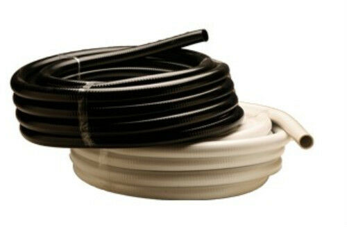 Quot ultra flexible pvc pipe hose tubing in black white
