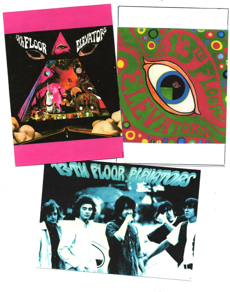 3 posters 13th floor elevators psychedelia ebay for 13th floor elevators sign of the 3 eyed men