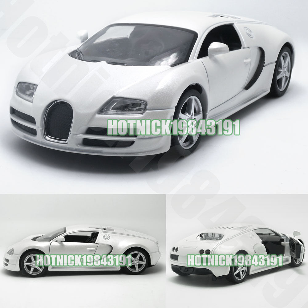bugatti veyron limited edition 1 24 diecast alloy model car white ebay. Black Bedroom Furniture Sets. Home Design Ideas