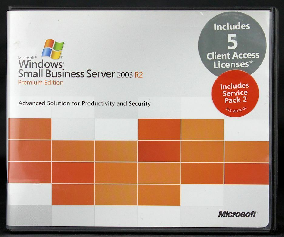Small Business Server 2003 R2 Prem
