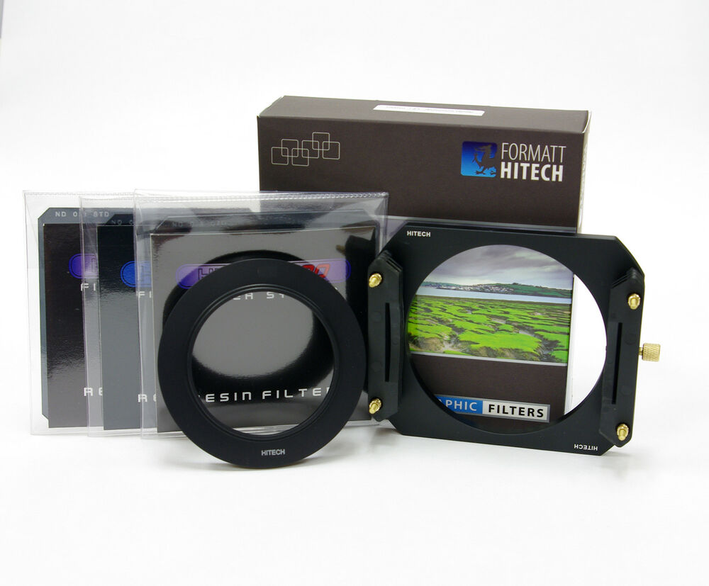 Formatt hitech 100 nd filter kit c w metal holder 3xnd for Kit filtration