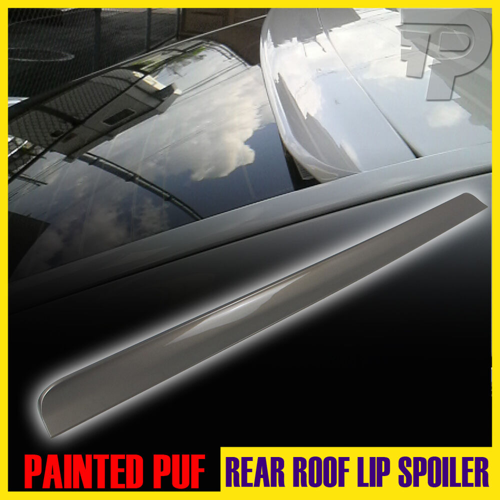 Painted 2004 2008 For Acura Tl Trunk Lip Spoiler Satin: PAINTED Honda Accord 8 EX-L LX Rear Roof Lip Spoiler Wing