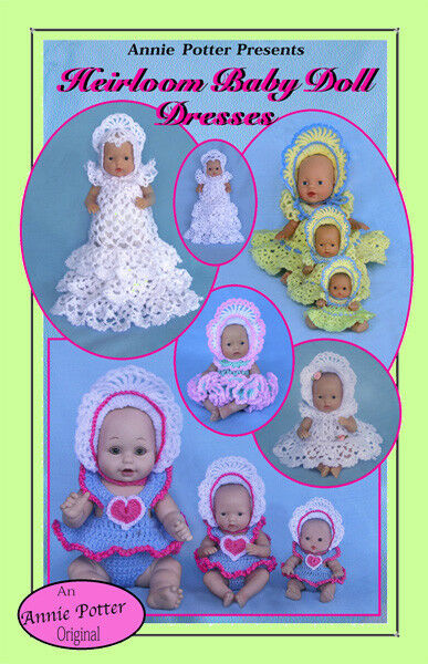 Crochet Heirloom Baby Doll Dresses Crochet Pattern By