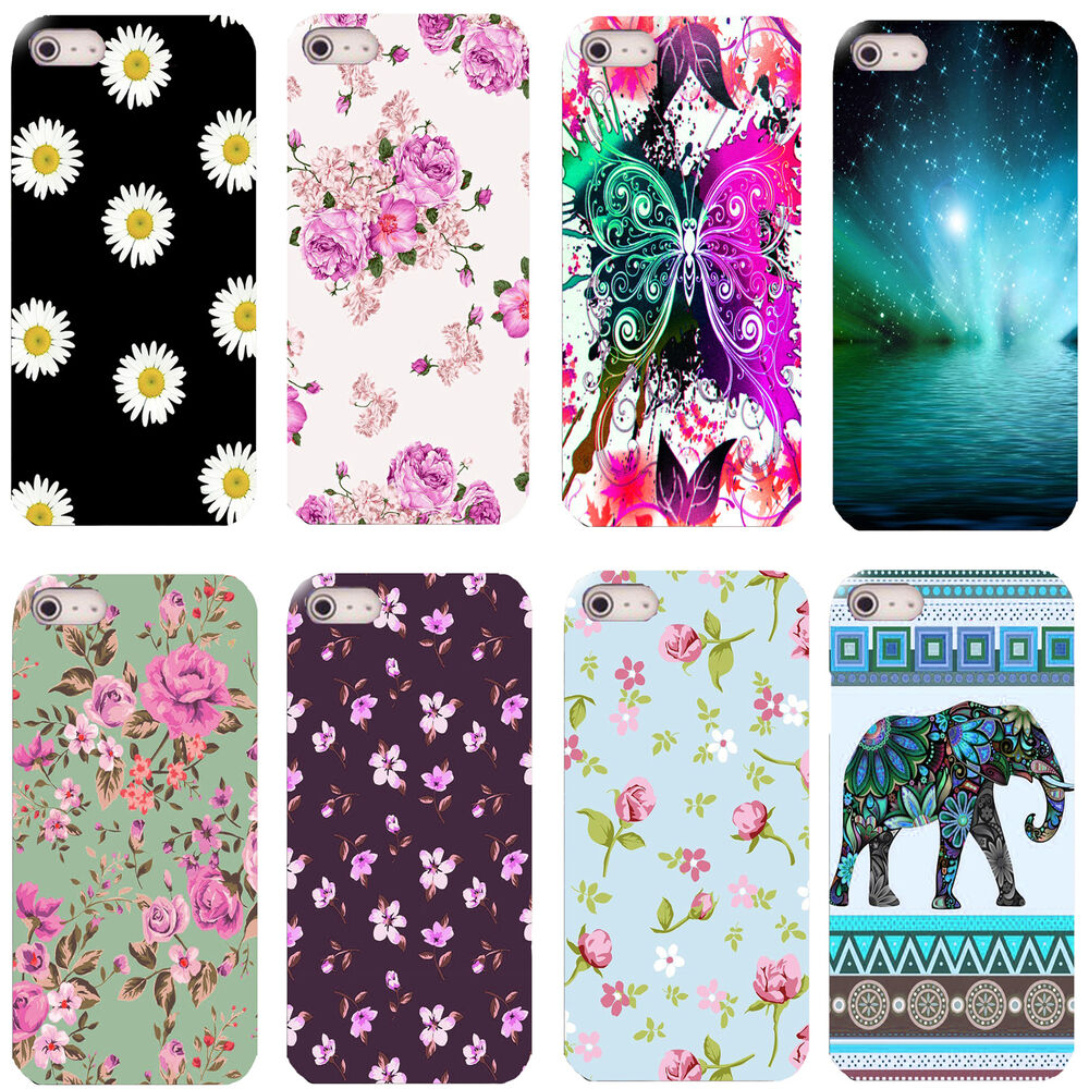 Pretty designs hard back case cover for most popular for Cell phone cover design ideas