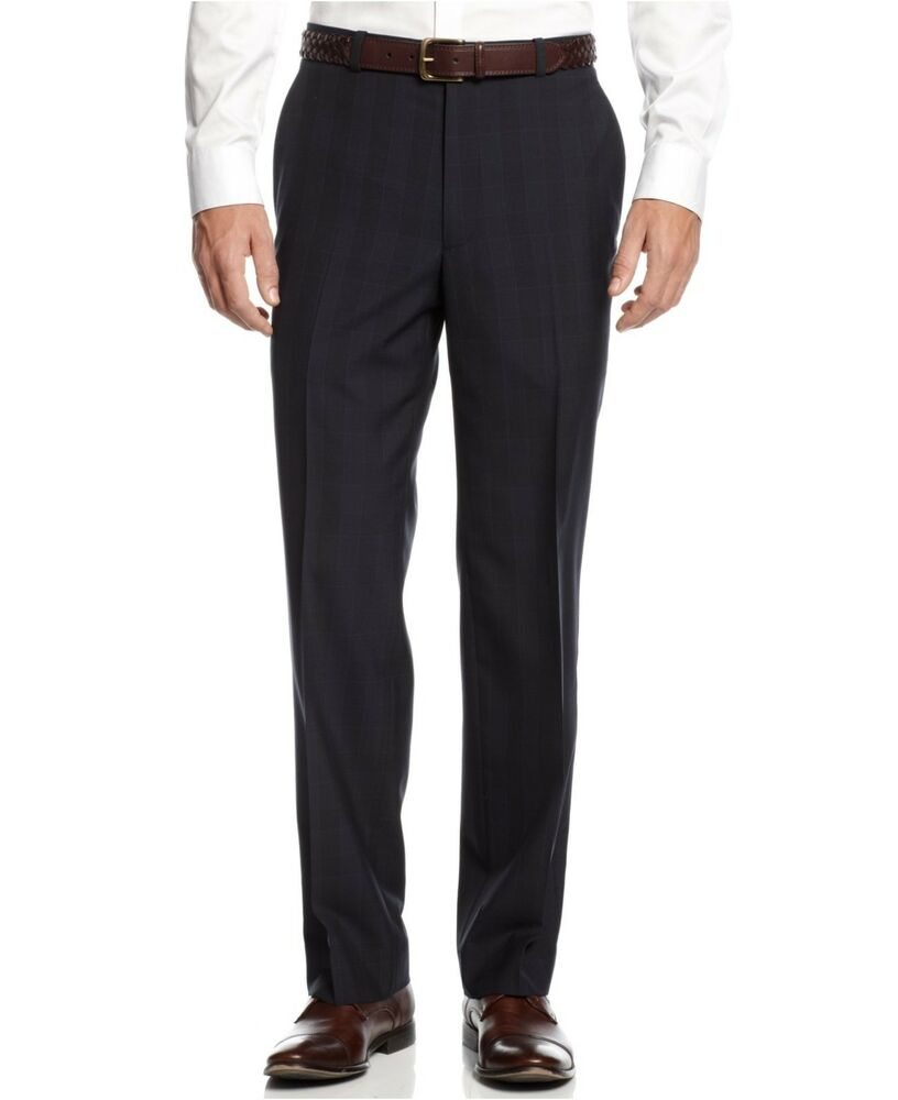 Our dress pants for men are available in an assortment of colors and patterns to easily pair with a variety of slim fit dress shirts, sport coats, blazers and jackets. Crafted from fine materials like crisp cotton and classic wool, our dress trousers are business-ready must-haves for any man.