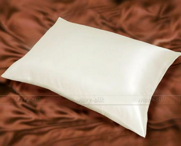 1pc 100 Mulberry Silk Pillowcases Standard Queen King