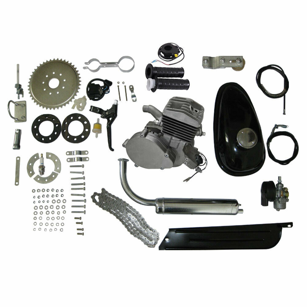 80cc 2 Stroke Engine Motor Kit Motorized For Bicycle Bike