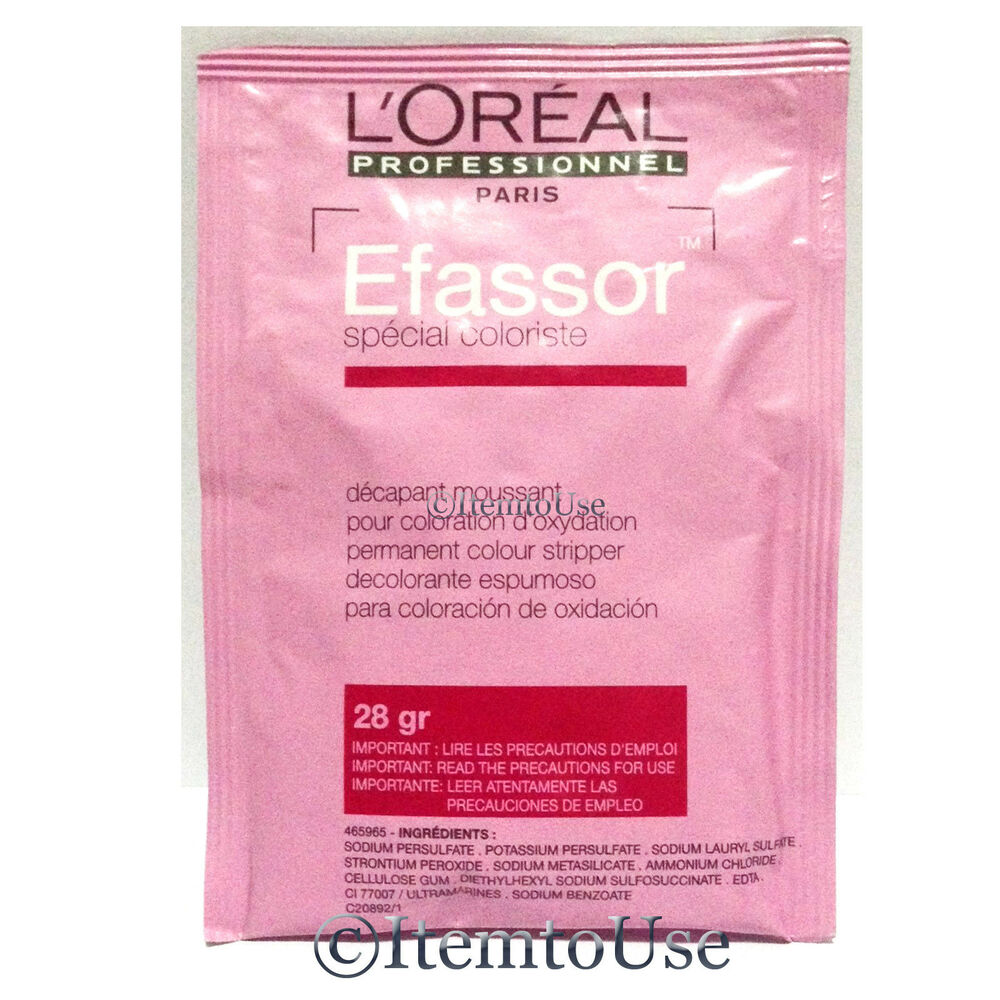 L39oreal Efassor Hair Color Remover Bleach Dye Remover