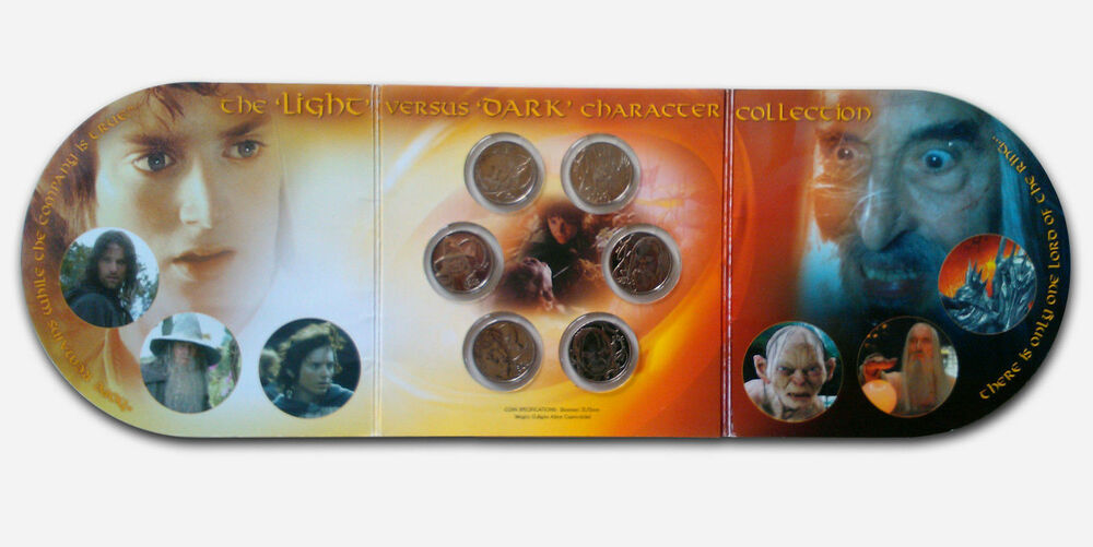 Lord Of The Rings Coin Set
