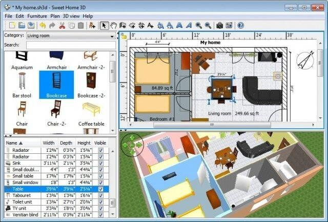 home design cad software sweet home 3d interior home design cad software suite home 18129
