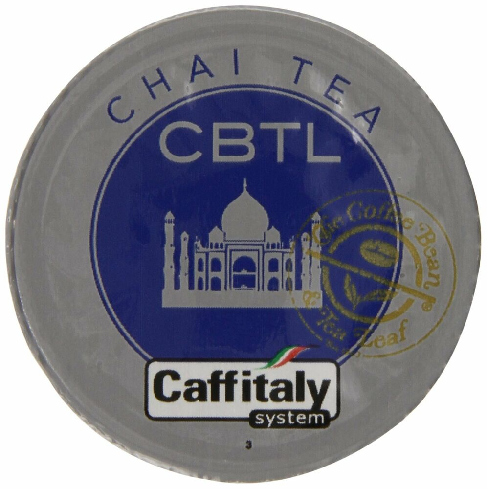 CBTL Chai Tea Capsules By The Coffee Bean And Tea Leaf, 10