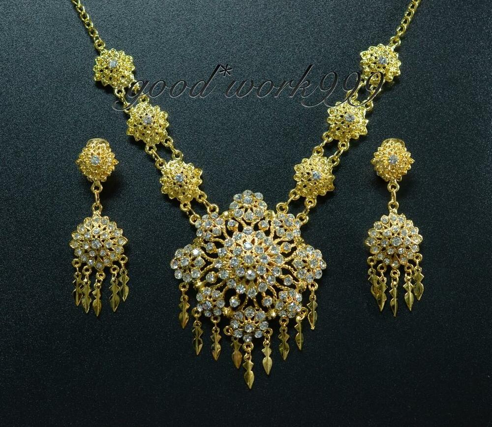 Thai Wedding Gifts: THAI DANCE RAMTHAI JEWELRY SET (T10) COSTUME WEDDING