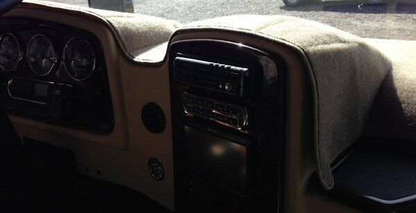 Motor Home Dash Covers Carpet Style Custom Made For Your