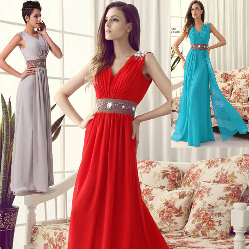 Vintage style mother of the bride long wedding guest prom for Ebay wedding guest dresses