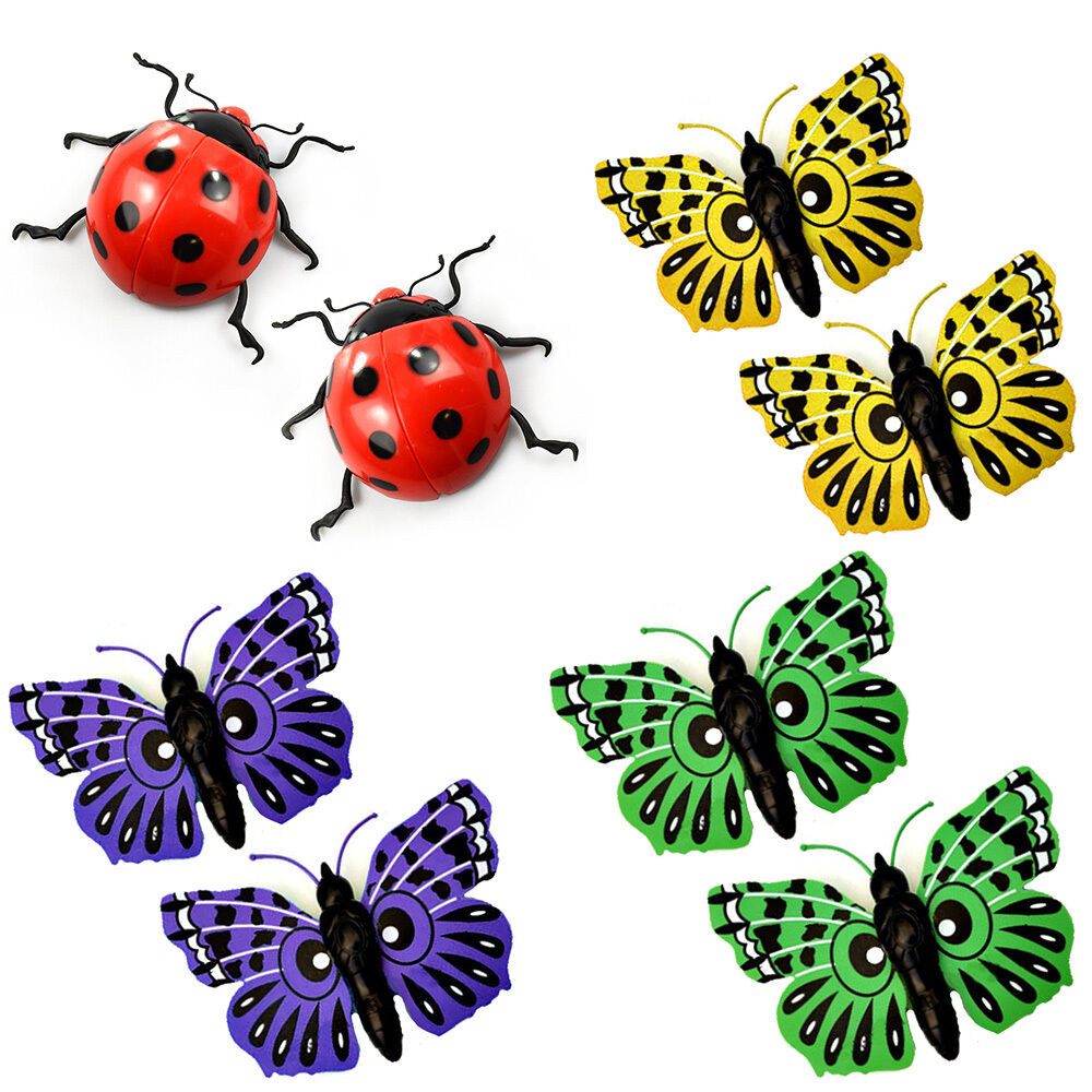 2 x giant garden butterfly plastic garden ornament for Outdoor butterfly ornaments