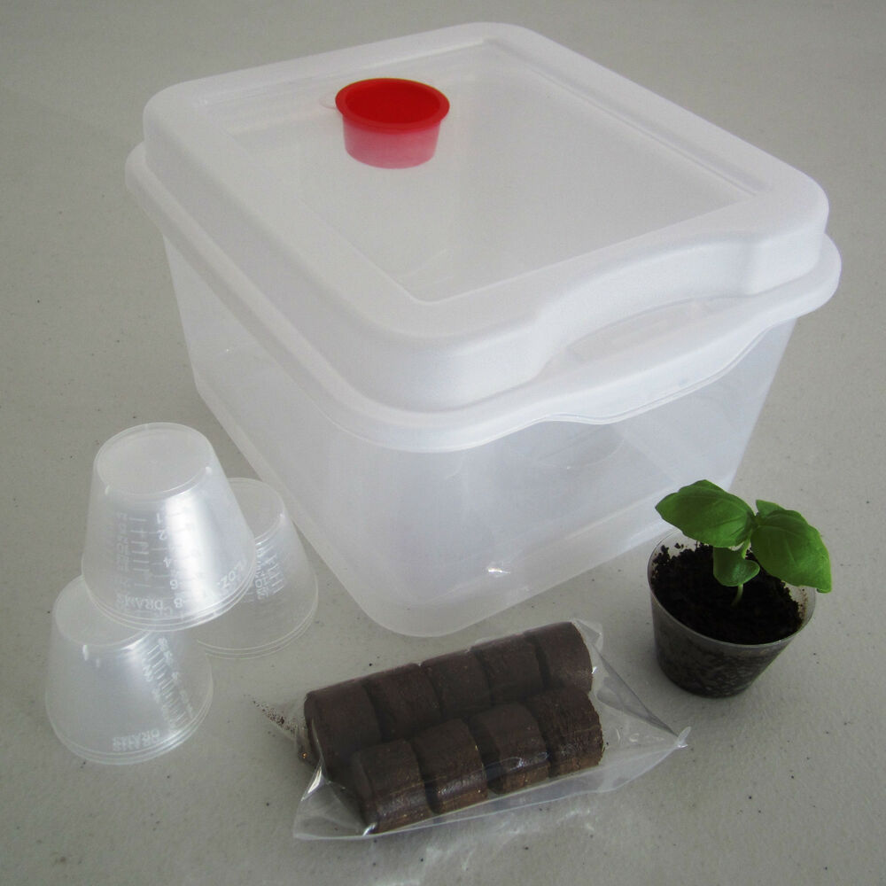 9 Pod Seed Starter Propagation Germination Kit For Hydro