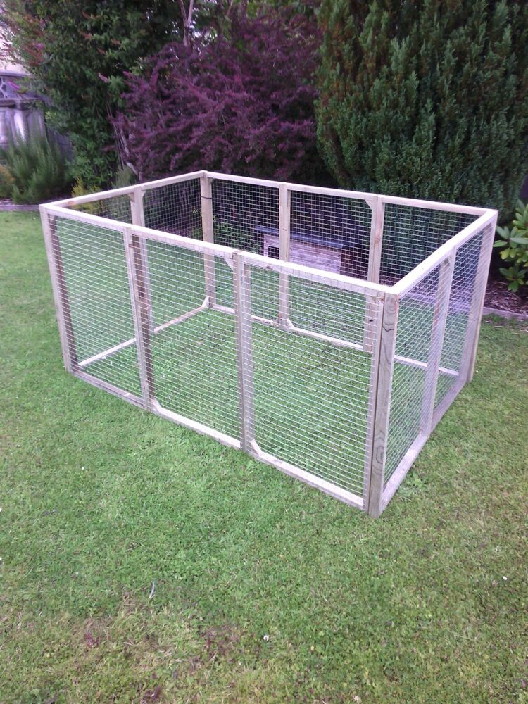 Free Dog Kennel And Run