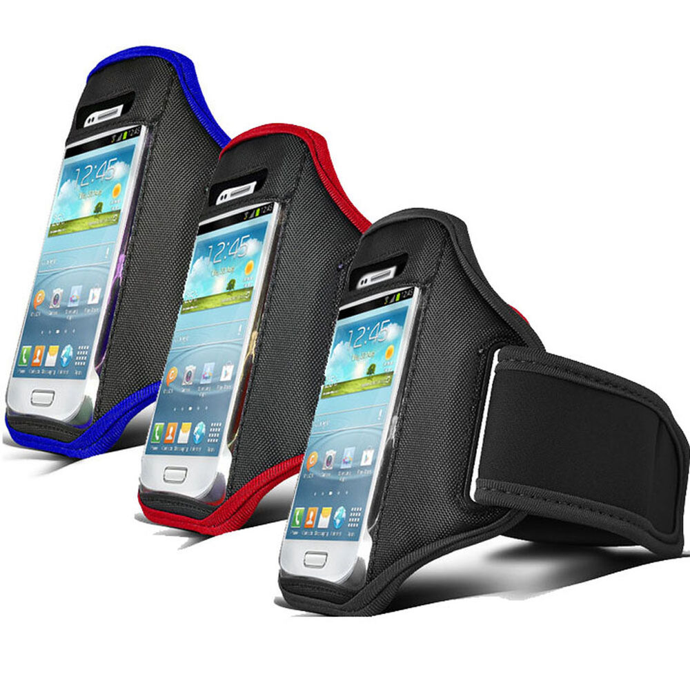 3X Running Sport Armband GYM Skin Case Cover FOR Apple