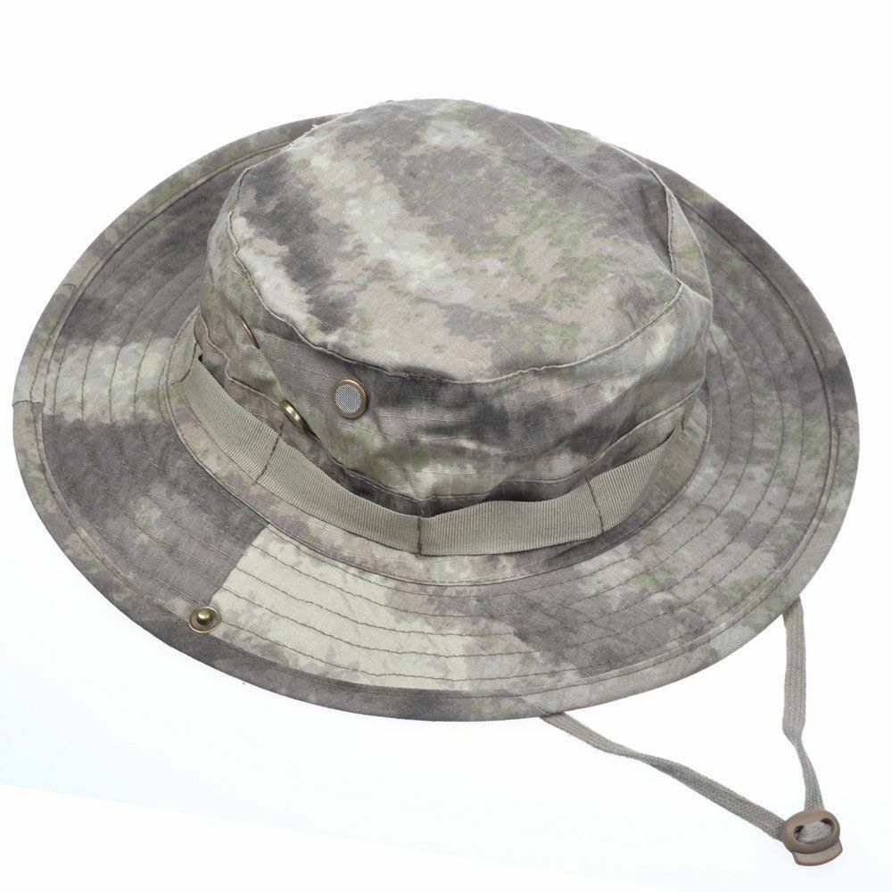 Tactical head wear boonie hat cap for wargame sports for Fishing boonie hat