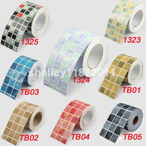 Wall paper sticker tile floor kitchen bathroom waterproof ebay