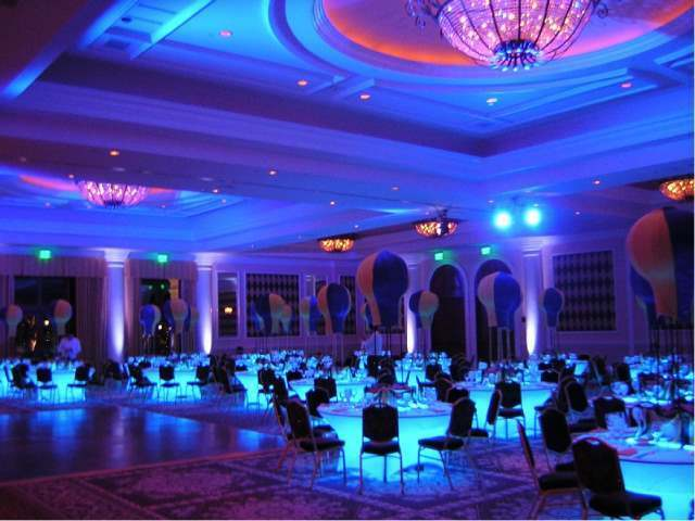 wedding hall decorations banquet or led lignting kit for decoration 9690