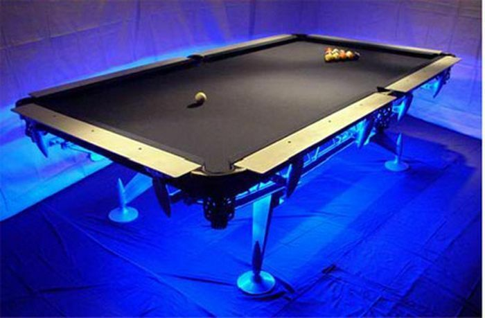 color changing pool table lights led remote control premium. Black Bedroom Furniture Sets. Home Design Ideas