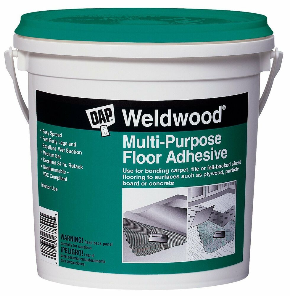 dap 00141 multi purpose floor adhesive 1 quart new free shipping ebay. Black Bedroom Furniture Sets. Home Design Ideas