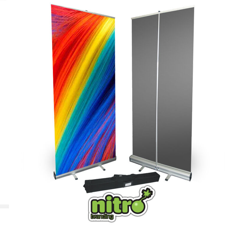 Exhibition Stand Roll Up : Roller banner display stand pull roll up sign exhibition