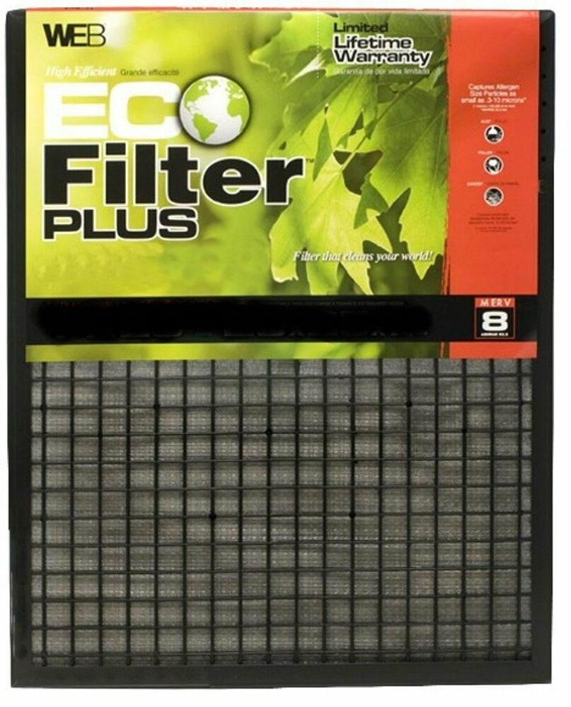 Web Wp1620 Eco Furnace Filter Plus 16 Inch By 20 Inch