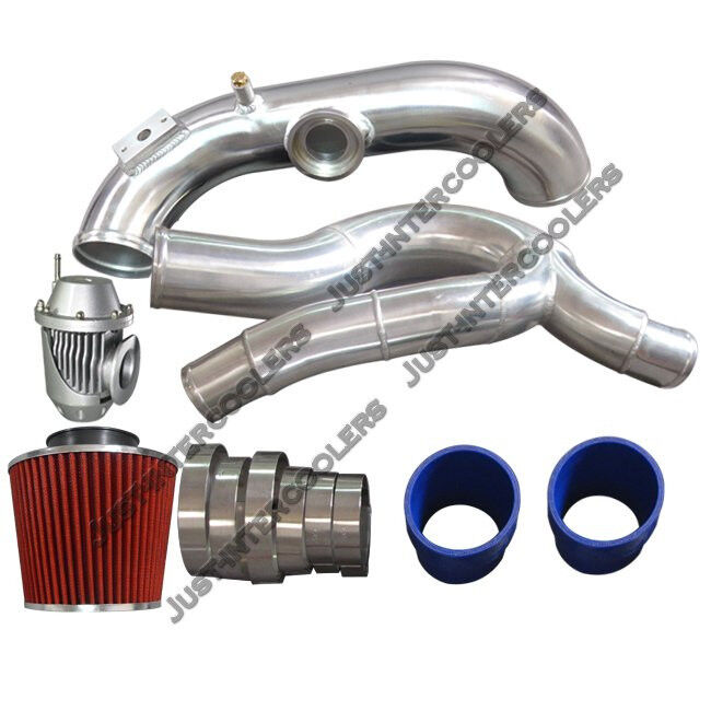 "Bmw S85 Twin Turbo Kit: 3"" Turbo Intake Piping Filter BOV Kit For BMW E87 135i E90"