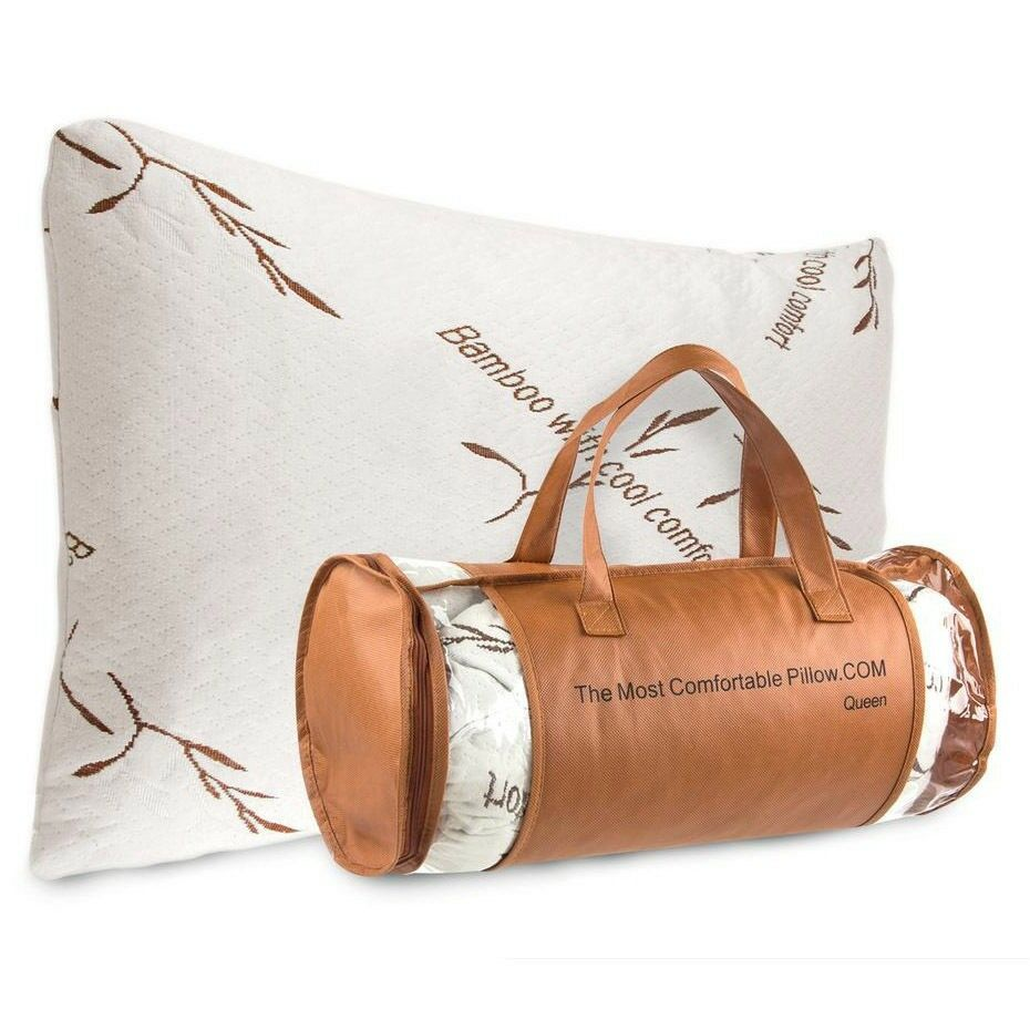 most comfortable pillow authentic the most comfortable bamboo pillow by 13135