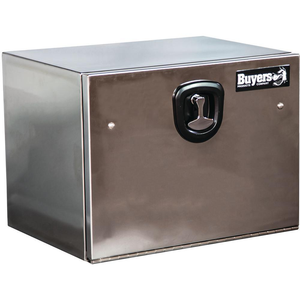 buyers polished s s 18 x 18 x 24 underbody toolbox 1702650 ebay. Black Bedroom Furniture Sets. Home Design Ideas